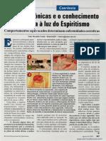 Doenças crônicas e o conhecimento de causa à luz do espiritismo  _ Vitor Ronaldo Costa