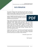 Outline Lap. Pendahuluan Revisi RTRW Kabupaten