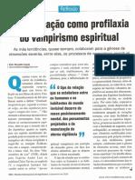 Autoeducação como profilaxia do vampirismo espiritual  _ Vitor Ronaldo Costa