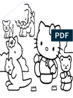 Mewarnai Gambar Hello Kitty 14