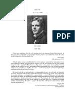 ANALYSIS London, Jack Martin Eden (1909) Analysis by 6 Critics