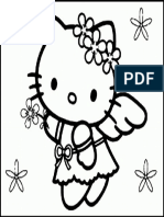 Mewarnai Gambar Hello Kitty 18