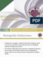 Redaccion de Monografias