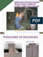 PosicionEs EN SOLDADURA