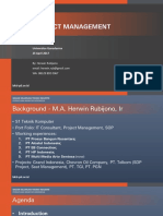 Project Management - Pak Herwin 21417