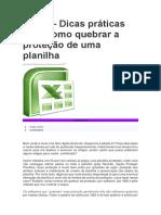 Remover Protecao Excel