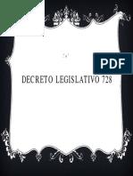 Comentario Del Decreto Legislativo 728..