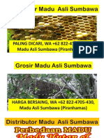 SALE MADU, WA +62 822-4705-4390, Madu Asli Sumbawa