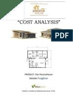 Eko Passivehouse Cost Analysis Aug2016