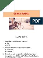 8th Meeting - Gerak Rotasi