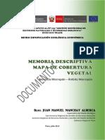 Cobertura Vegetal Morropon - PIURA