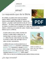¿Qué es el alma_ _ Preguntas sobre la Biblia