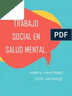 Trabajo Social en Salud Mental.