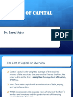 WACC or cost of capital