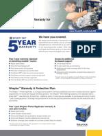 Brady360-5year Warranty Informational Sheet