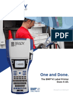 BMP41 Printer Brochure