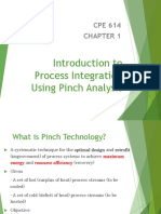 Chapter 1 - Introduction to Process Integration Using Pinch Analysis (Students)