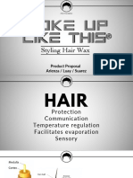 Product Proposal_Hair Wax