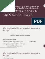 1. Particularitati AP Locomotor
