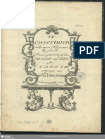Georg Philipp Telemann  6 Overtures for clavier TWV 32
