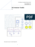 RFIC Inductor Toolkit