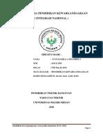 Lembar Kerja Pendidikan Kewarganegaraan Yuni Marilla Sinambela 27-01-2018