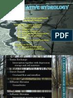 208711831 Quantitative Hydrology REPORT Pptx