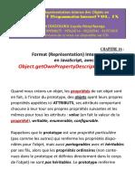 Format (Représentation) interne des objets JavaScript