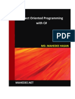Ebook__Object Oriented Programming with C%23 - 4th Edition.pdf