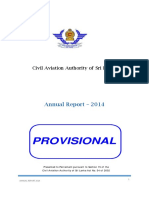 Civil Aviation Authority - Sri Lanka - Annual Report – 2014