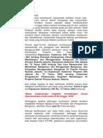 Cuplikan Ttg Jam Kerja Pada Keputusan Gubernur DKI No. 72 Tahun 2002