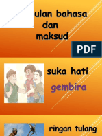 Bm y2 Simpulan Bahasa