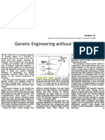 Genetic Engineering Without Enzymes