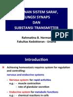 4.3 Susunan Sistem Saraf, Fgs Sinaps & Substansi Transmitter