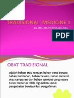 Tradisional Medicine 1 Kediri