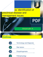 Preclinical Condition Magement