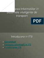 Procesarea Informatiilor in Sistemele Inteligente de Transport