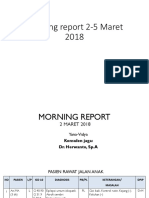 Morning Report 2-5 Maret 2018