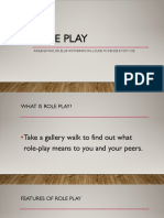 role play powerpoint