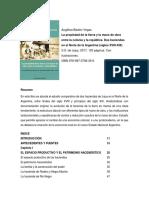 La propiedad de la tierra y la mano de obra entre la colonia y la república. Dos haciendas en el Norte de la Argentina (siglos XVIII-XIX)