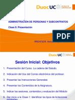 Clase 00 Adm Personas y Subcont 2018-1