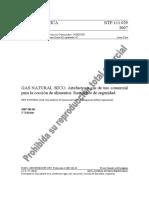 NTP 111.029 - Artefactos a Gas de Uso Comercial Para La Cocción de Alimentos. Requisitos de Seguridad