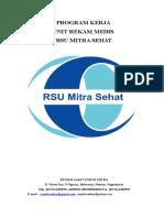 Program Kerja Unit Rekam Medis Tahun 2017