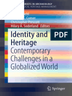 Identity and Heritage Contemporary Challenges in a Globalized World