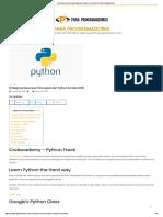 10 Mejores Recursos Para Aprender Python en Este 2018 _ Para Programadores