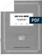 Ernst Gottlieb Baron Suite in Re Majeur
