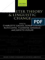 Parameter Theory and Linguistic Change GALVES CYRINO Et Al