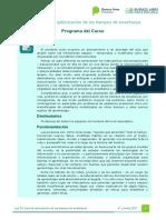 Programa - Plan de Clases - Optimización C4v.1