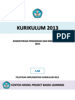Contoh Model Project Based Learning