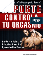Tips Controla Tu Orgasmo